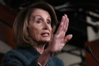 House Speaker Nancy Pelosi Holds Her Weekly News Conference On Capitol Hill