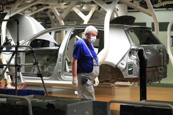 VW Joins Auto Peers in Warning of Severe Hit From Pandemic
