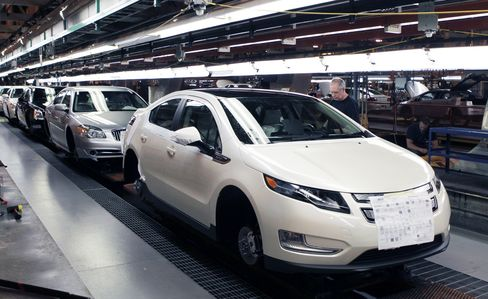 GM's Chevrolet Volt