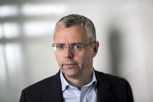 Alcatel-Lucent SA Chief Executive Officer Michel Combes
