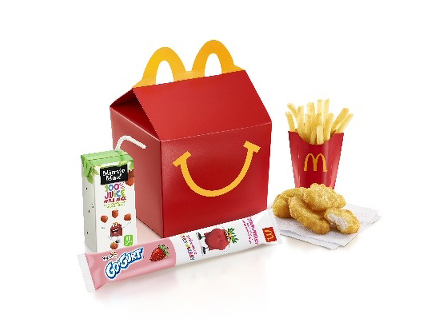New Happy Meal Options