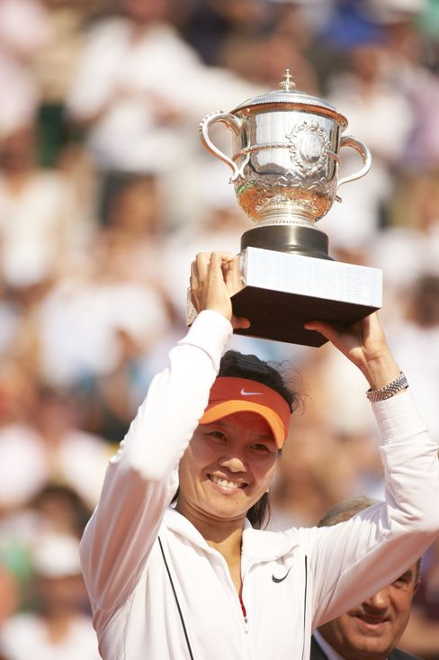 Chinese Tennis Player Li Na