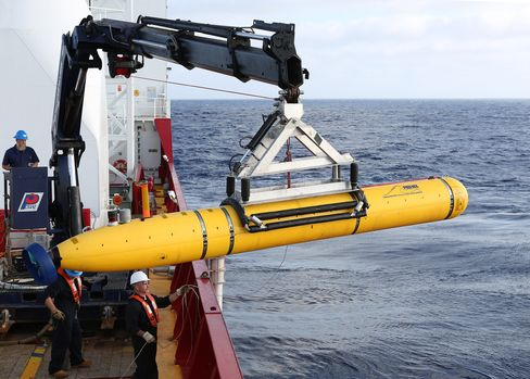 Bluefin-21 Used in the Search for Flight 370
