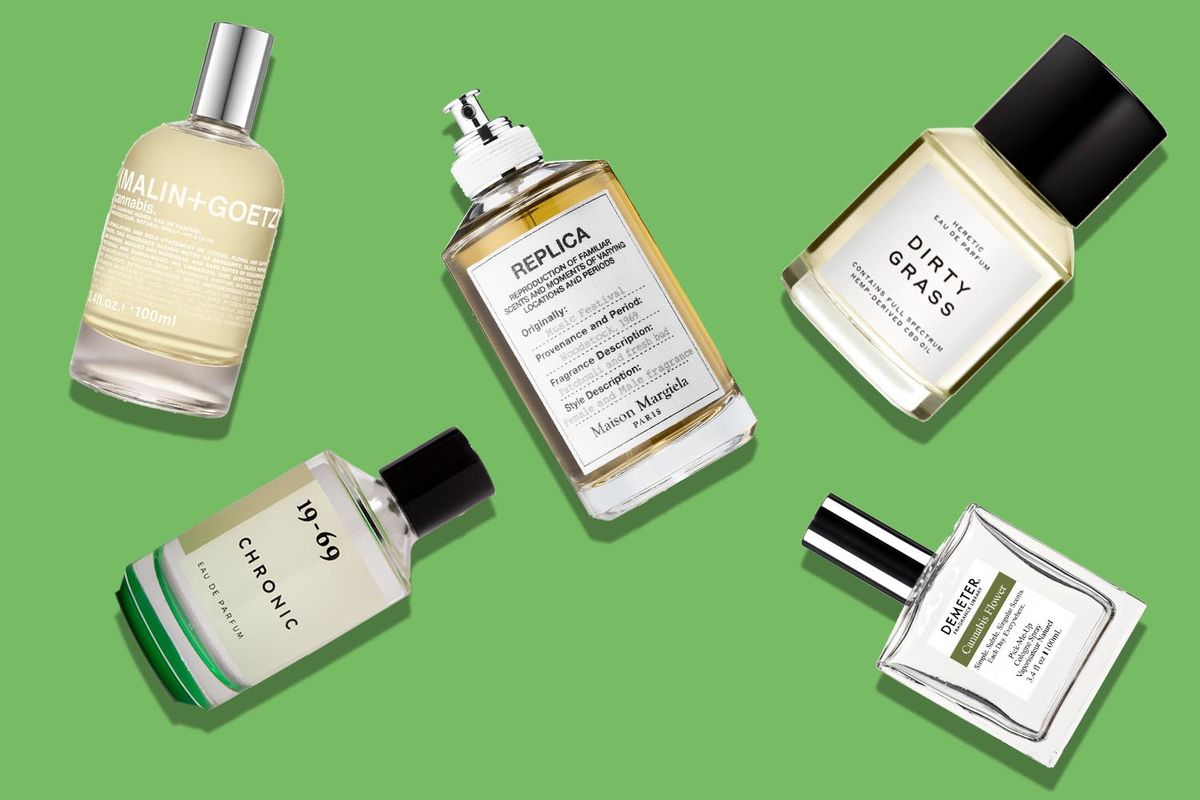 No Longer In Hiding, the Scent of Cannabis Joins the Perfume Counter