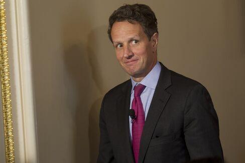 Incoming Warburg Pincus President Timothy Geithner
