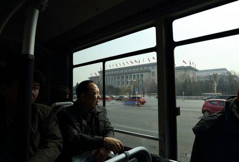 A Bus in Beijing