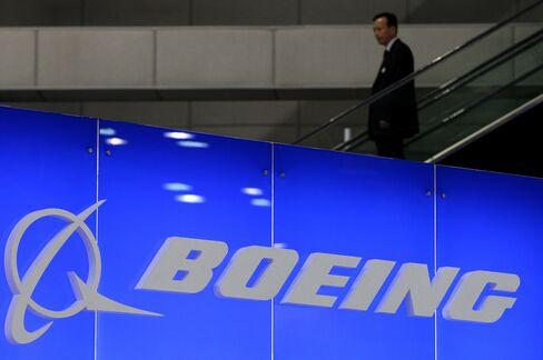 Boeing Signage