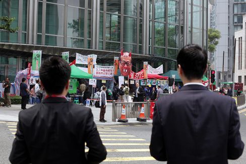Li Ka-Shing Fails to Get Court Order Barring Striking Protesters