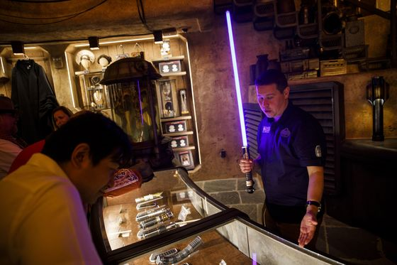 Star Wars Land Debuts as Disneyland Braces for Record Crowds