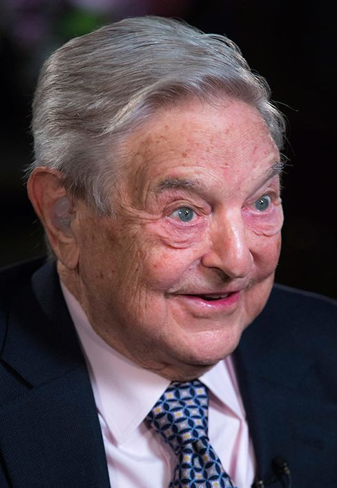 George Soros, billionaire and founder of Soros Fund Management LLC.