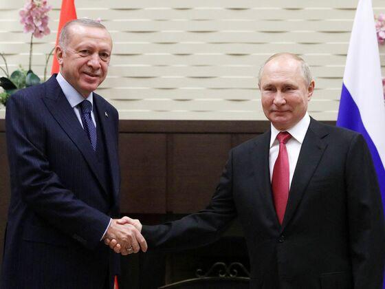 Erdogan Discussed Warplane, Submarine Cooperation With Putin