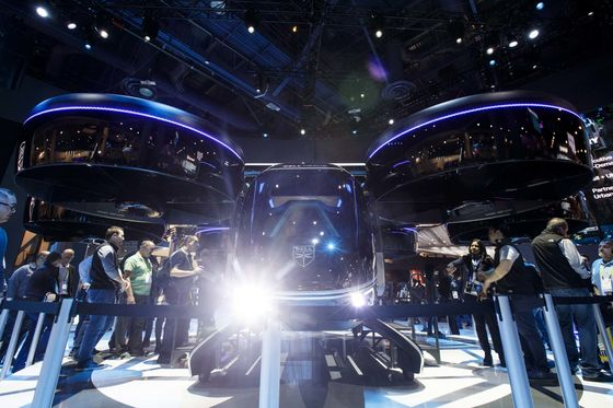 Giant Screens and Walking Cars: The Best of CES 2019