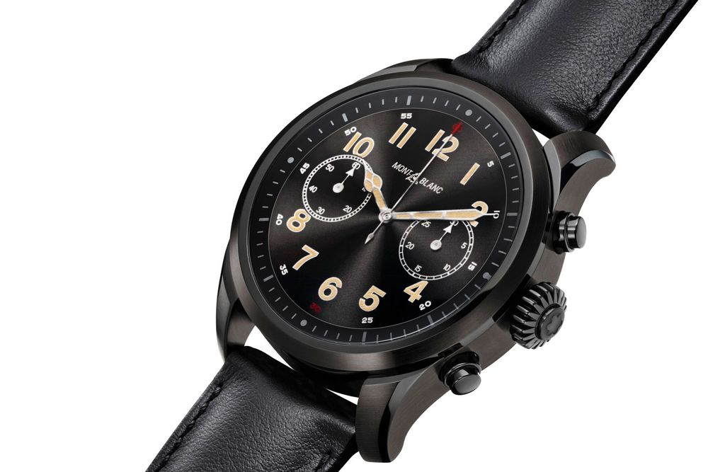 ff168cede6c Montblanc s Summit 2 Smartwatch Amps Up the Tech