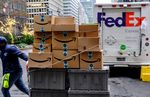 FedEx Corp. Deliveries As Cyber Monday Deals Hit