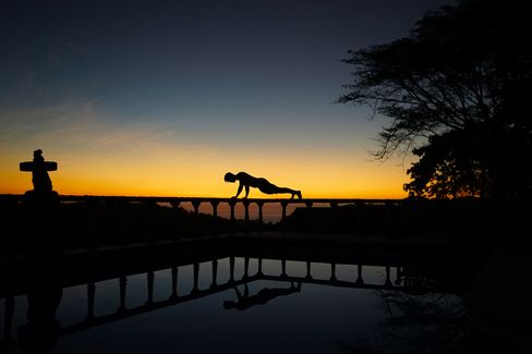 At S10, training sessions use nature to strengthen the body. The retreat is invite-only.