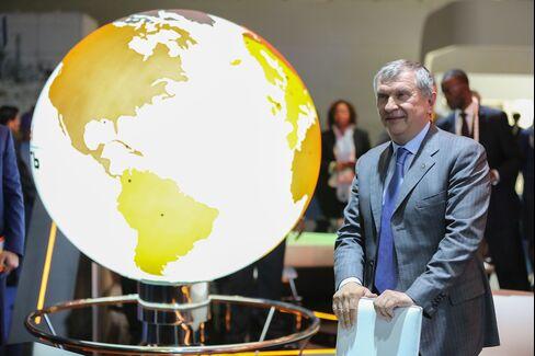 OAO Rosneft Chief Executive Officer Igor Sechin