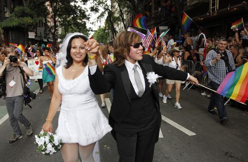 NY's Gay Marriage Law May Give Economic Boon