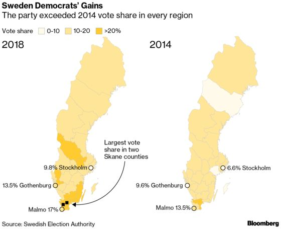Sweden Headed for Political Gridlock After Inconclusive Election