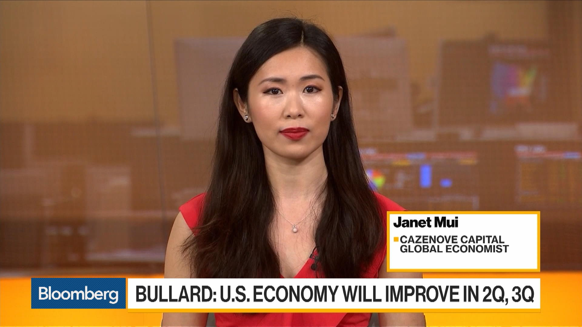 Cazenove Capital's Mui Sees a Modest Recovery for the U.S. Economy