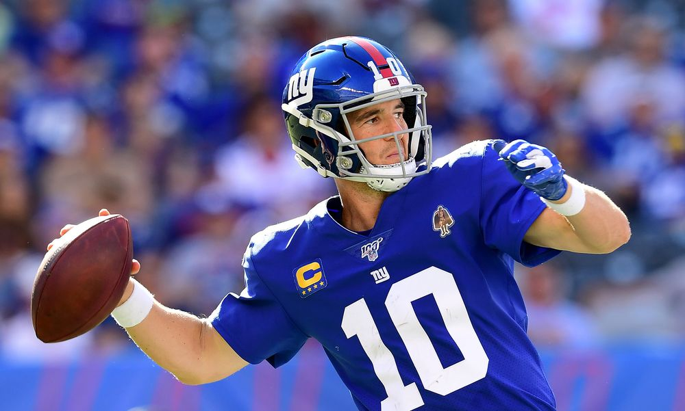 finest selection 712f0 c5a3b Eli Manning Benched by Giants, Daniel Jones to Start - Bloomberg