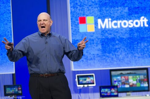 Ballmer Says Microsoft Working to Keep PC 'Device of Choice'