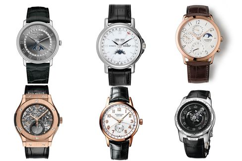 The calendar watches range from the simple to the highly complex.