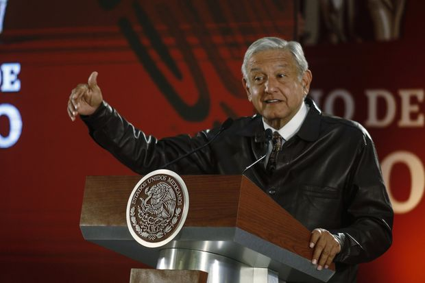President Lopez Obrador Holds Daily Morning Press Briefing