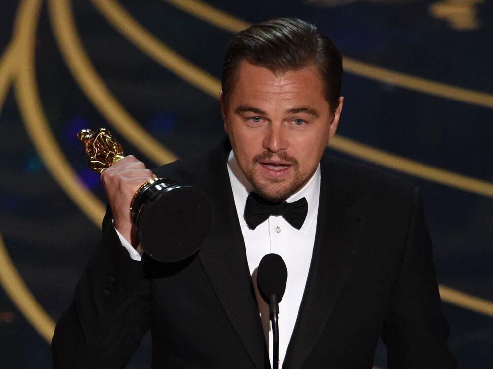 Leonardo DiCaprio Has a New Job: Advising a Climate