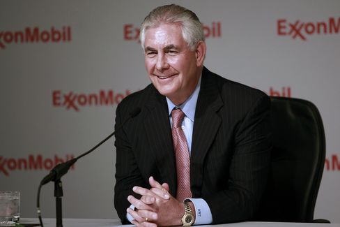 Exxon Mobil Corp. Chief Executive Officer Rex Tillerson