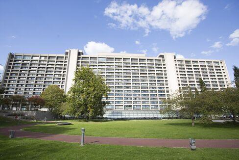 The Bundesbank facade