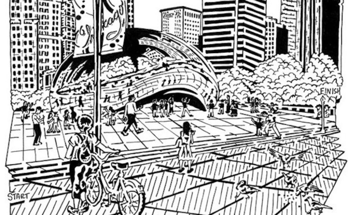 This Artist Turned Chicago Into a Maze
