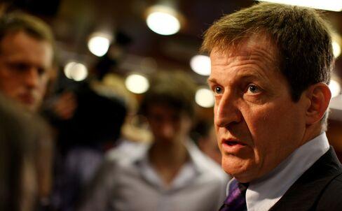 Tony Blair's Ex-Press Chief Alastair Campbell