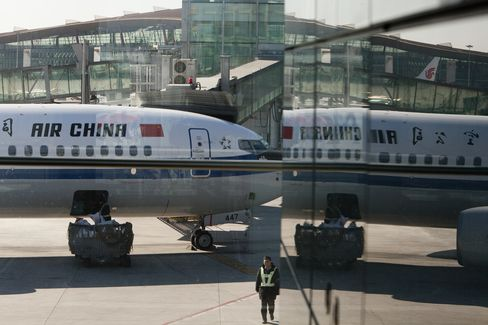 Air China Passenger Growth May Slow to 4.4% After Profit Slump