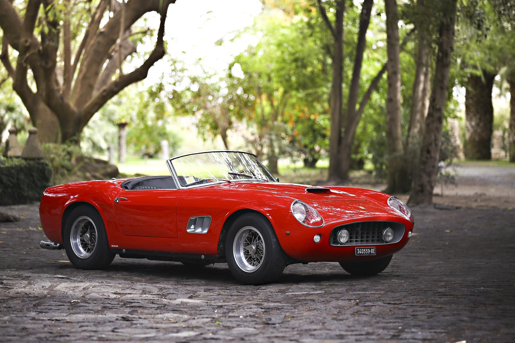 $17,160,000 —1961 Ferrari 250 GT California SWB Spider