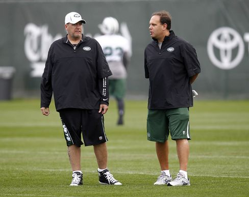 Jets Fire Tannenbaum as General Manager; Ryan Will Remain Coach