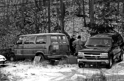 Bragg's body was found behind a junked van in Scary Creek