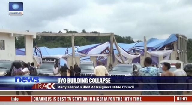 Death toll in Nigeria's church building collapse exceeds 100