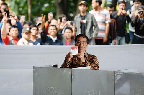 Presidential Candidate Joko Widodo