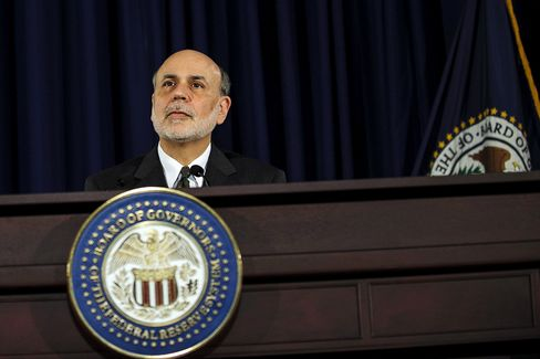 Losses Erased in S&P 500 as Bernanke Finishes Job Economy Began