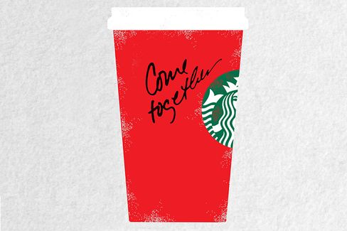 Starbucks??? $40,000 Cup Campaign for Bipartisanship