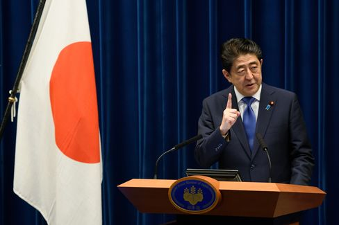 Japan Prime Minister Shinzo Abe Announces Plans For 2 Trillion Yen Spending Package And A Snap Election