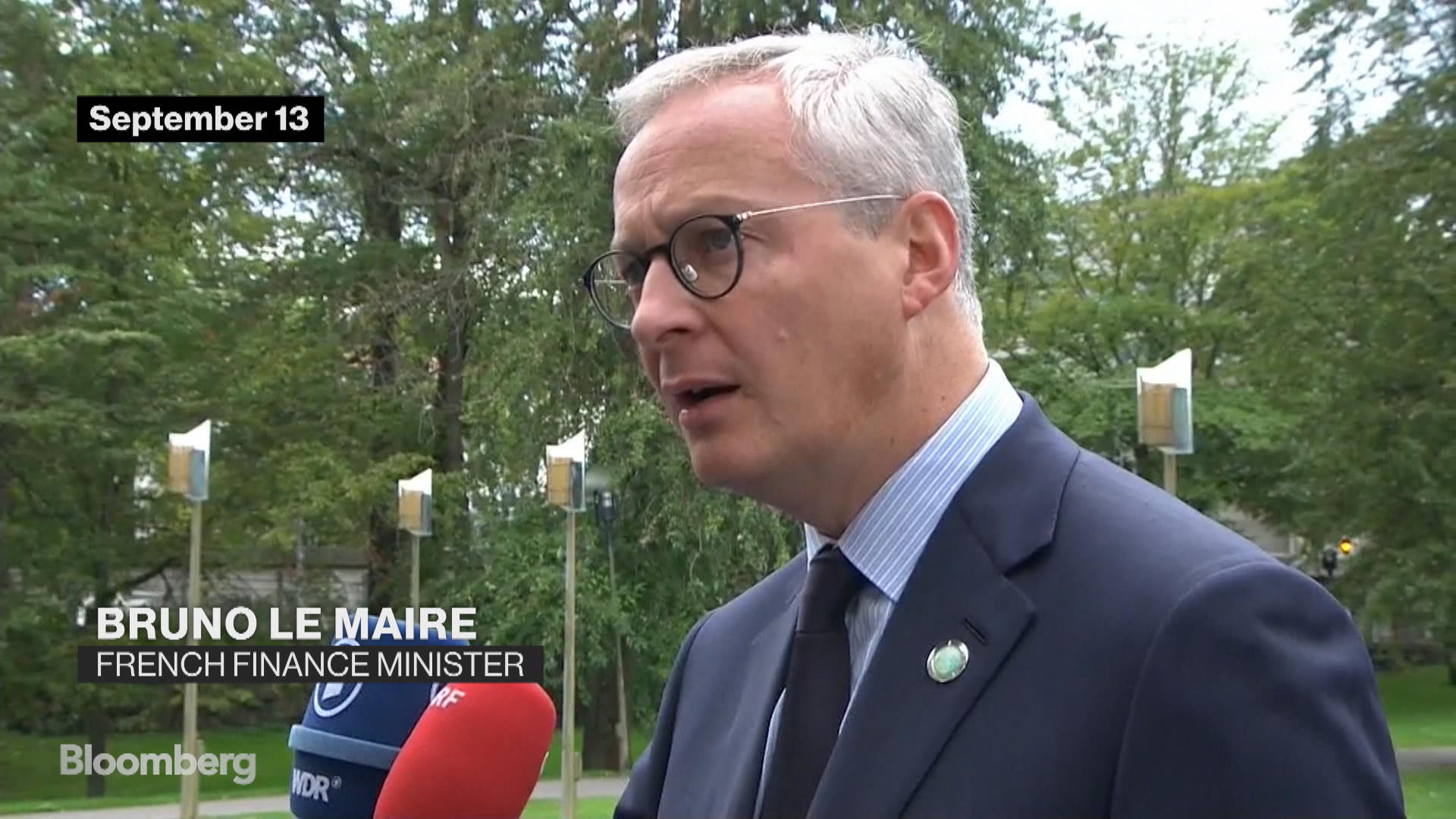 French, Danish, German Finance Ministers Discuss Climate Change