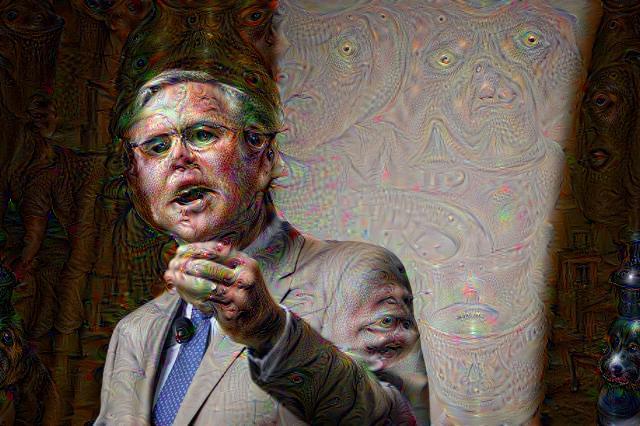Jeb Bush, DeepDream