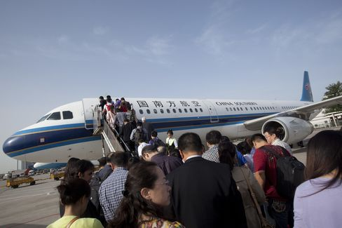 Chinese Airline Shares Fall on Bird Flu Concern