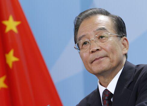 China Premier Wen Jiabao
