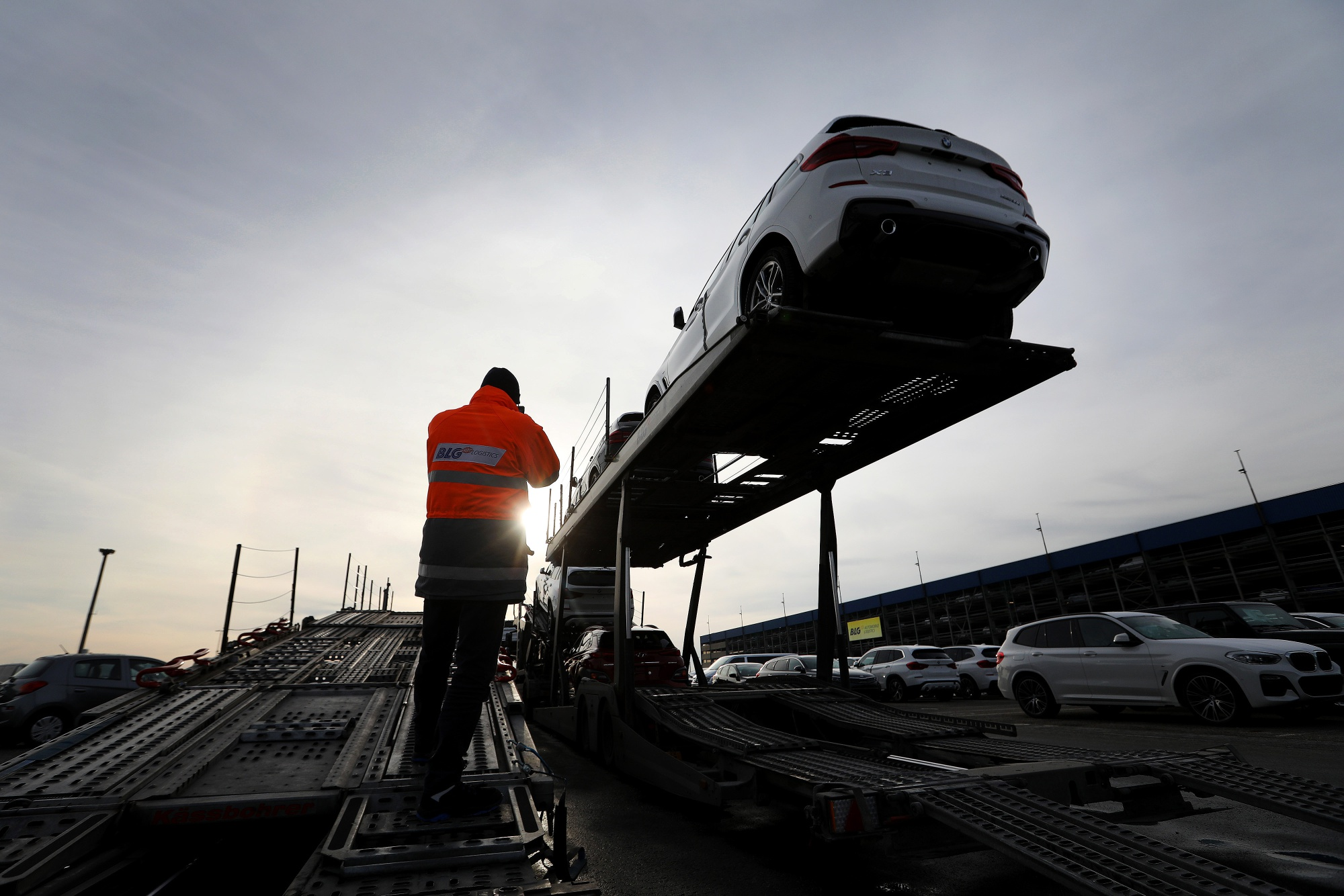 German Exports Slump Most in Three Years on Trade Conflicts - Bloomberg