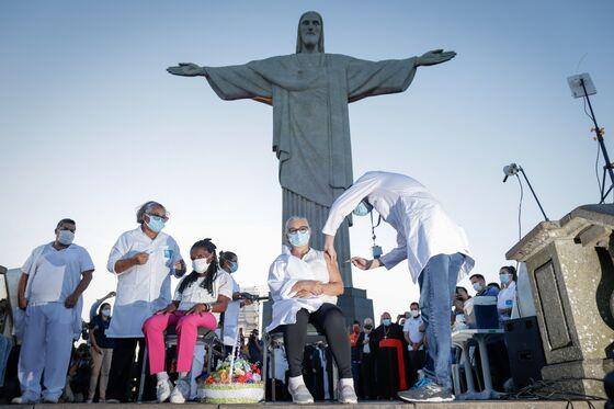 Rio Defies Bolsonaro, Joins Cities With Vaccine-Passport Mandate