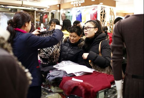 China's Consumer Inflation Rebounds as Holiday Boosts Prices