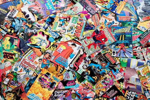 Those Comics in Your Basement? Probably Worthless