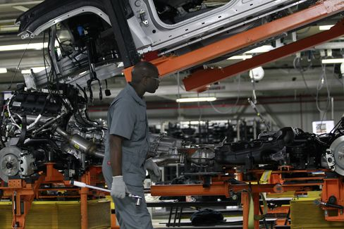 U.S. Automakers Fleeing Detroit Thrive Amid Motor City's Decline